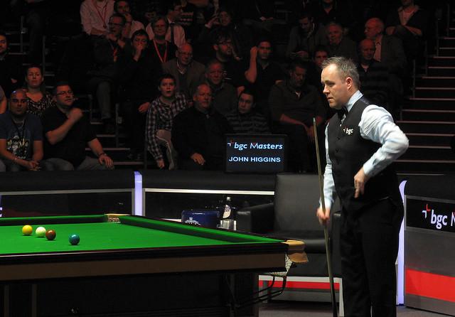 John Higgins Snooker Tournament