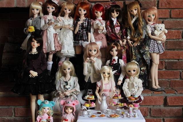 Doll Tea Party