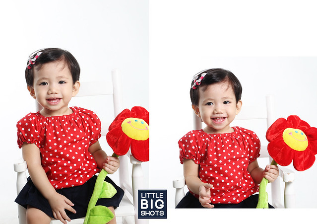 The One in Red | Family Studio Portraiture