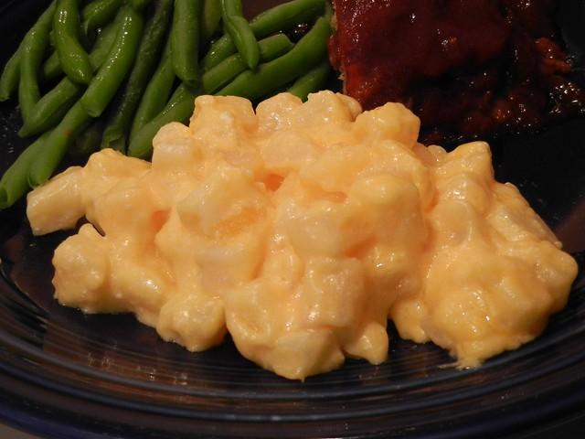 Microwave Cheesy Potatoes