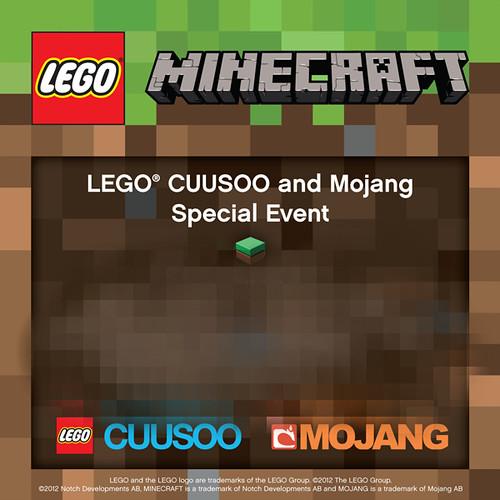 LEGO Minecraft Unveiling