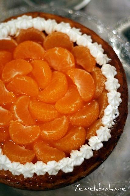 Mandalinalı Cheesecake