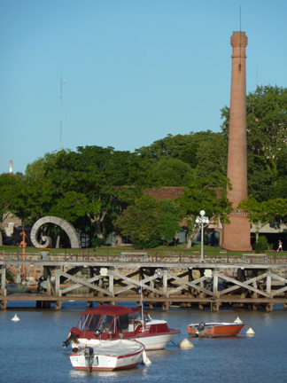 View of wharf and cultural center