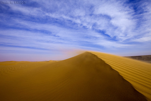 Blowing sand by TARIQ-M
