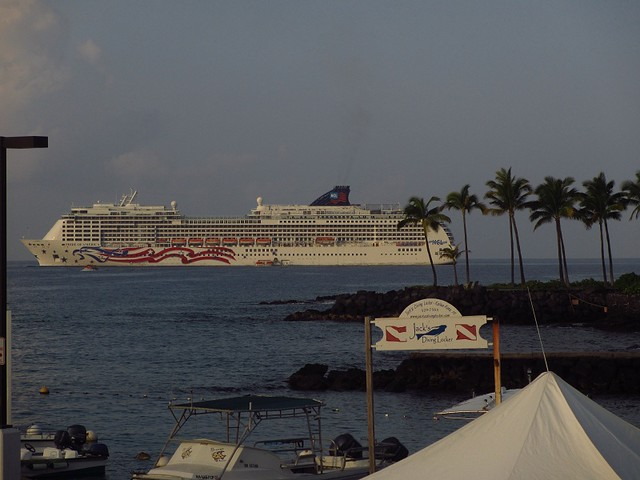 POA anchored at Kona