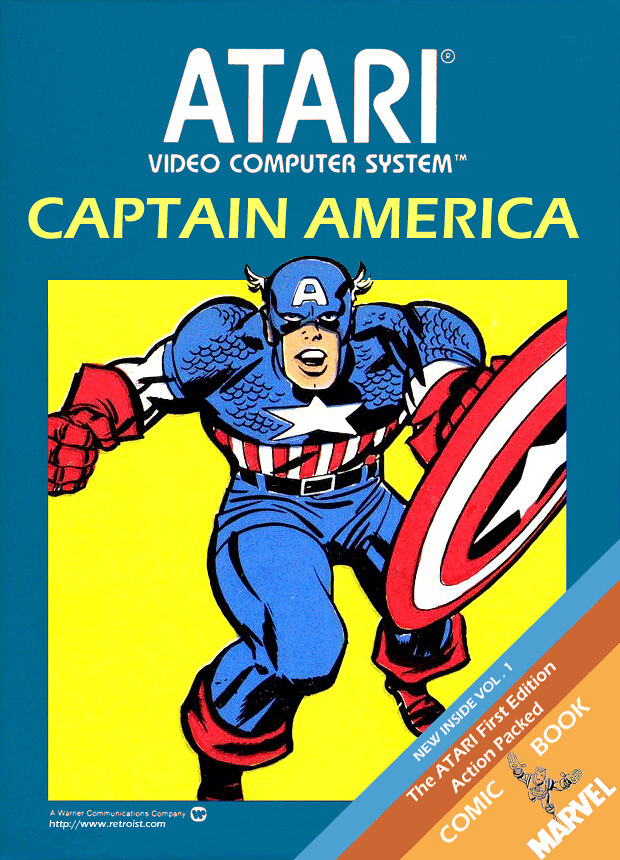 Captain America for the Atari 2600