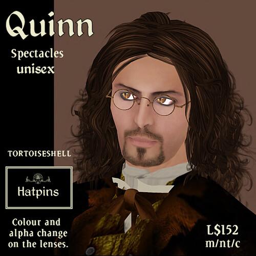 Quinn Spectacles - Tortoiseshell