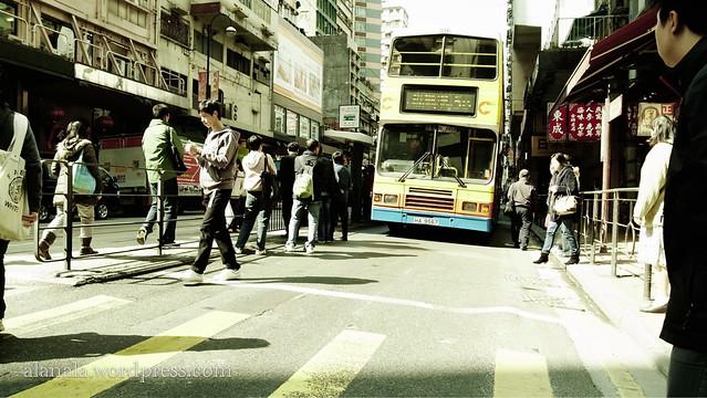 When bus broke down..