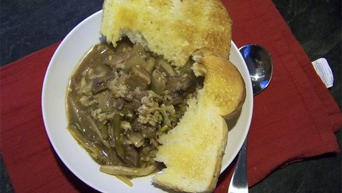 Wingin' It Wednesday: Moose and Mushroom Stew