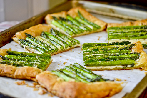 Asparagus & Gruyere Tart 9
