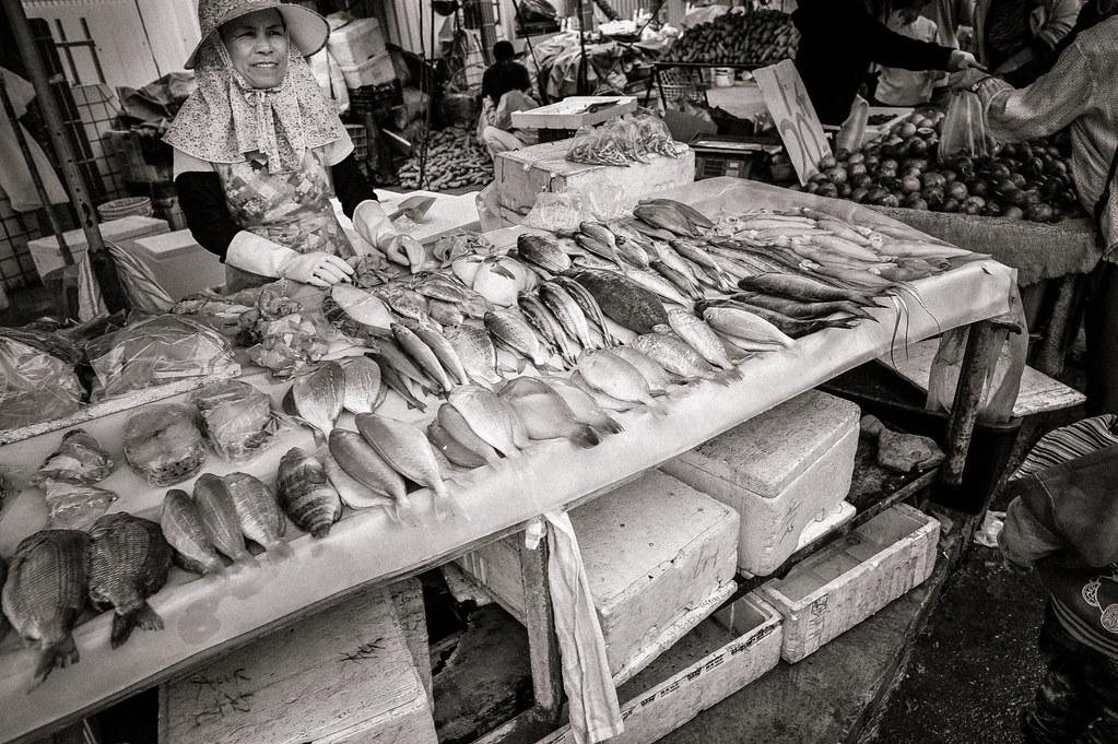 Fish Monger Morning