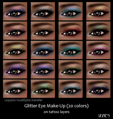 Glitter Eye Make-Up (Summer of Beauty Festival)
