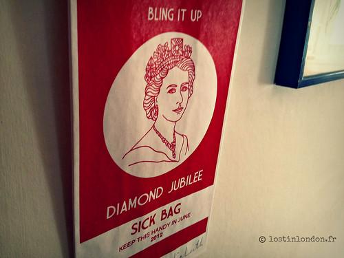 lydia leith diamond jubilee sick bag