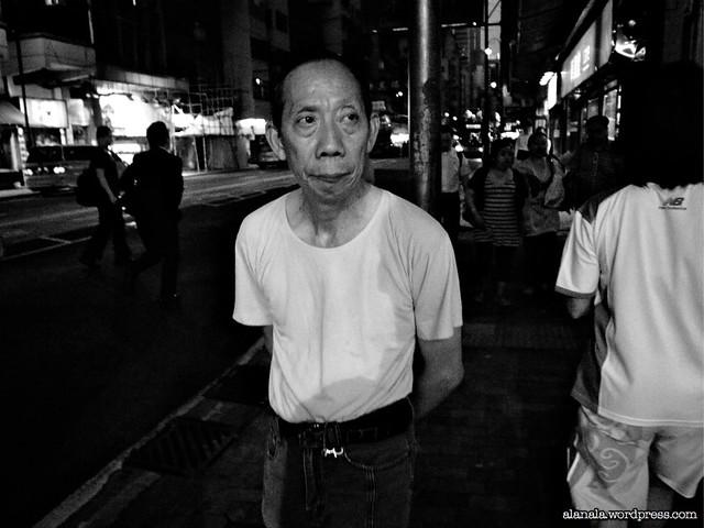 Man on a stroll