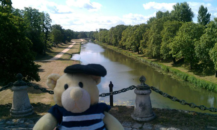 On the aqueduct at Briare
