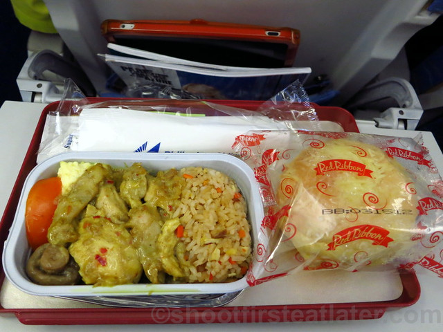 Philippine Airlines Economy Meal Mnl-Tpe-Mnl