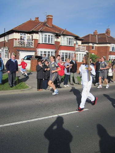 Olympic Flame in Redcar