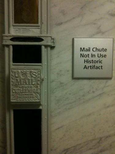 mail chute