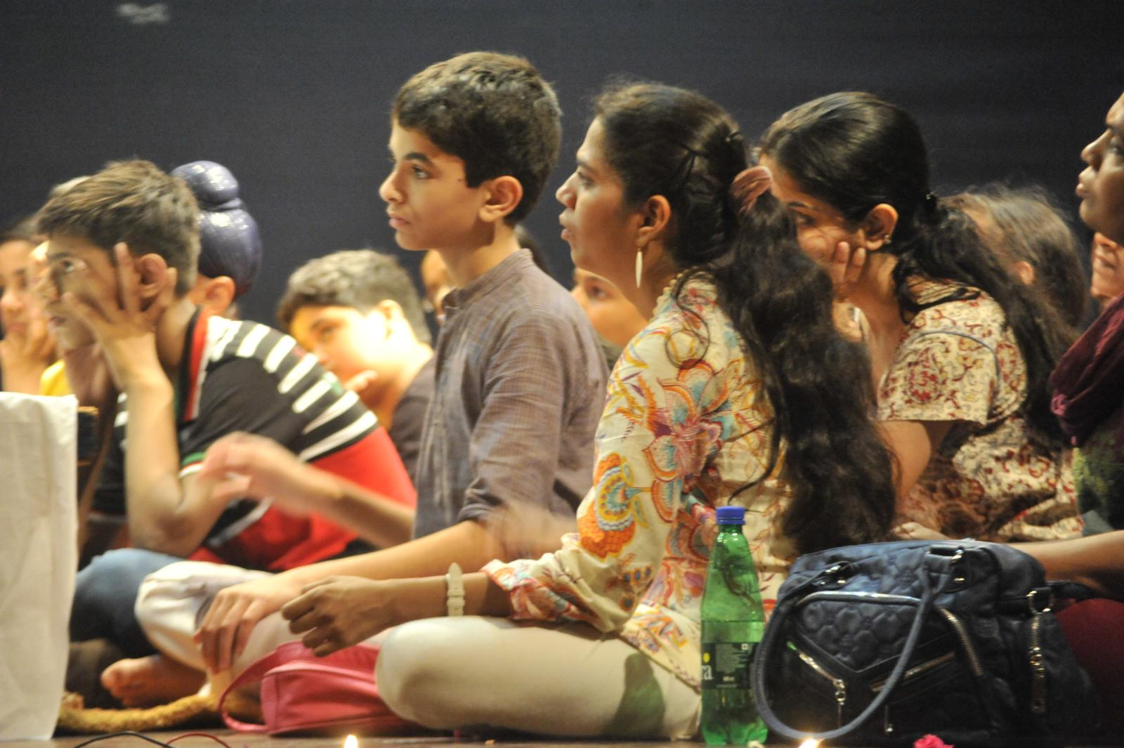 mesmerized... Guru T N Krishnan concert