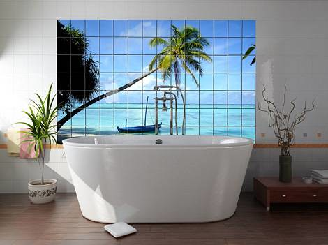 okhyo-photo-tiles-beach-bathtub