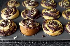 Chocolate Swirl Buns