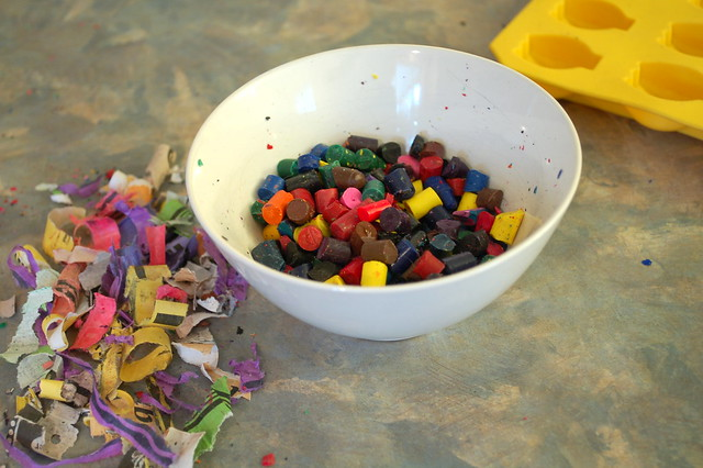 crayon recycled