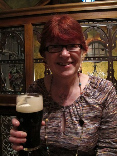 Enjoying the craic in Dublin