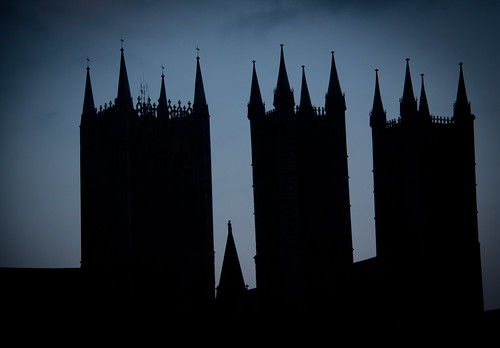 The Lincoln Cathedral - Lincolnshire UK