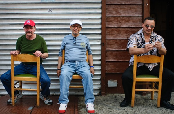 Three Gentlemen, Grand Street, Williamsburg, 16 May 2012.