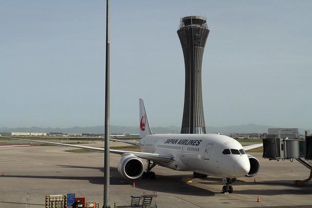JAL B787-8 Dreamliner (JA822J)