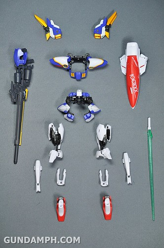 Armor Girls Project MS Girl Wing Gundam (EW Version) Review Unboxing (23)