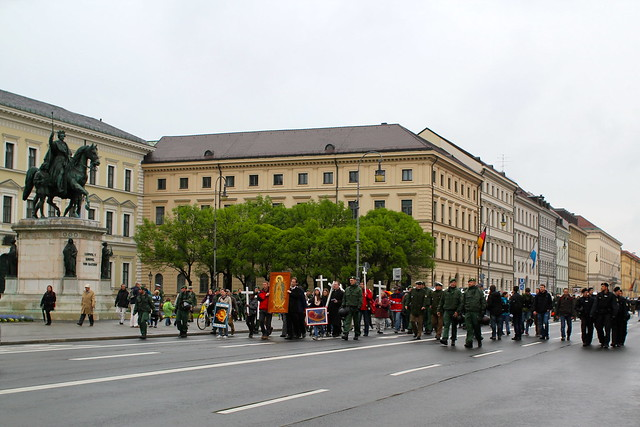 UGH. Anti-abortion protest. Mainly men. Surprise surprise.