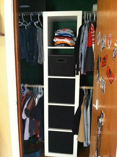 boys closet after