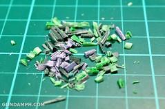 1-100 Kshatriya Neograde Version Colored Cast Resin Kit Straight Build Review (21)