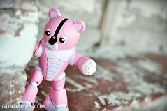 Pink Bearguy at Cape Bojeador Lighthouse
