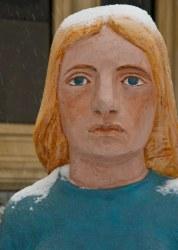 Saint John : John Hooper Statue - Sister Golden Hair
