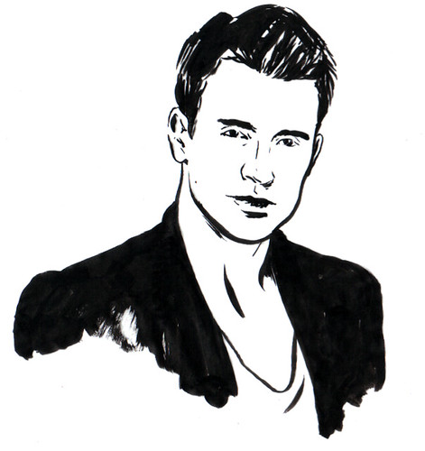 Chris Evans - Spot Portrait
