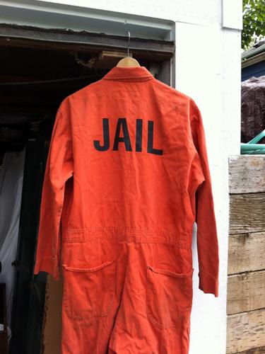 Jail jumpsuit