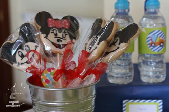 galletas mickey mouse