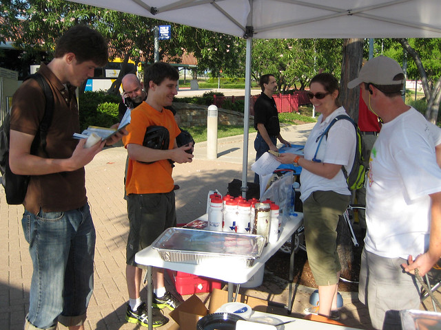 Signing Up For BikeDFW
