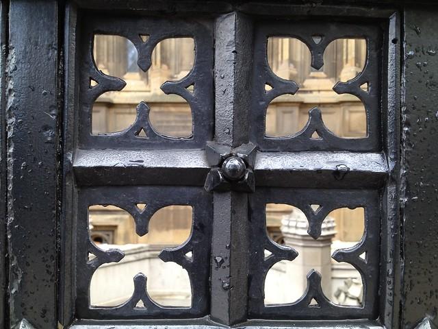 Decorative fence detail