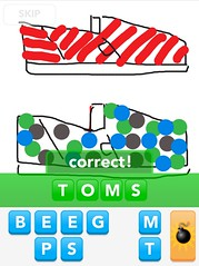 TOMS, Draw Something App
