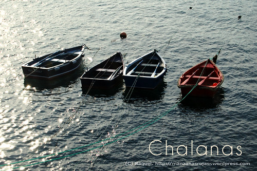 Tapia de Casariego (Asturias). Chalanas