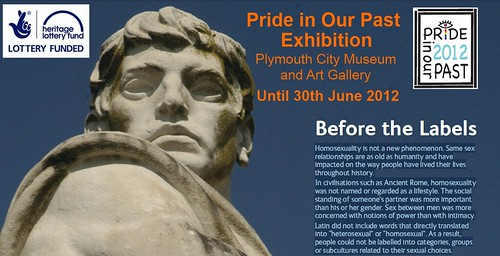 Before the Labels - Pride in Our Past Exhibition by Pride in Our Past