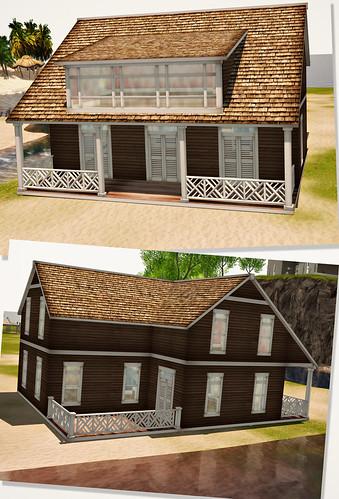 Thistle Homes Coastal Cottage - Outside - Home Expo