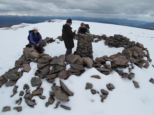 Beinn Bhan summit cairn