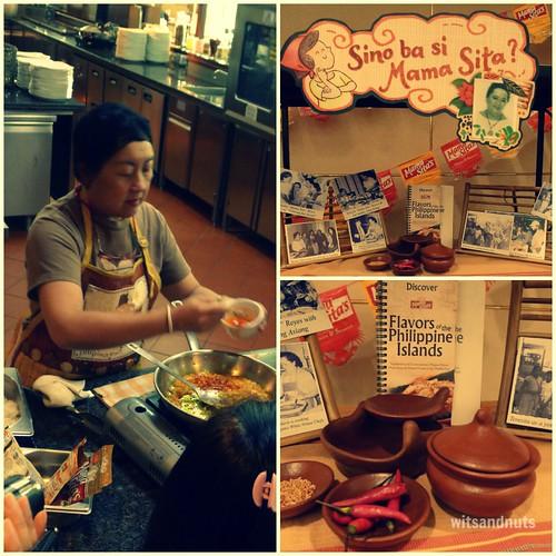 Mama Sita Food Demo