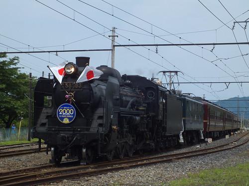 C58 363+デキ201(2000回運転) @武州中川〜武州日野