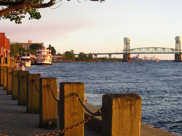 Wilmington at Sunset