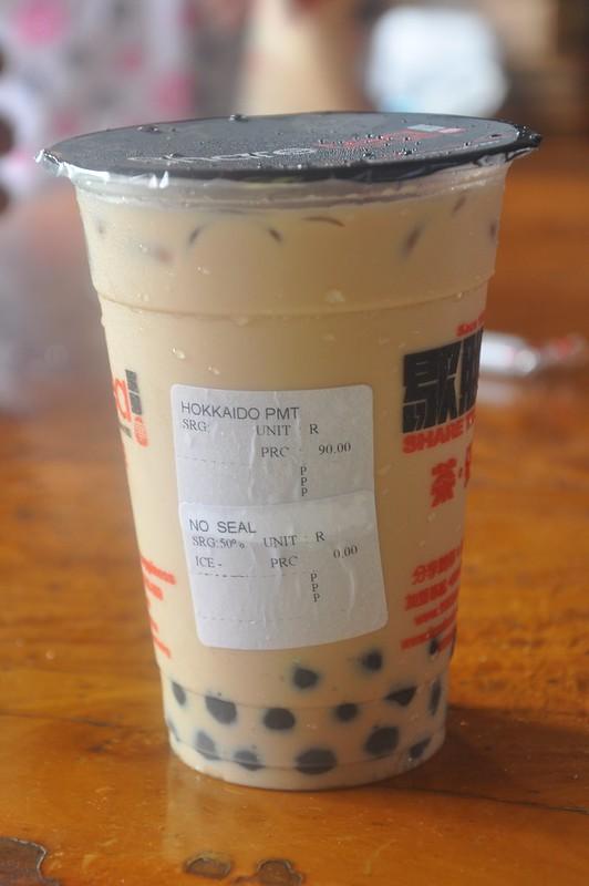 Share Tea Hokkaido pearl milk tea